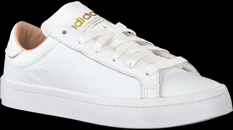 Weiße ADIDAS Sneaker COURT VANTAGE DAMES   Omoda