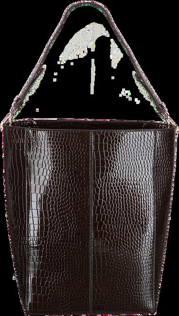 Braune HVISK Shopper CASSET CROCO  - large