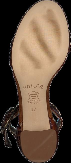 Cognacfarbene UNISA Sandalen GINA  - large