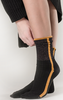 Schwarze MARCMARCS Socken DEBORAH COTTON - small