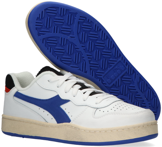 Weiße DIADORA Sneaker MI BASKET LOW ICONA  - large
