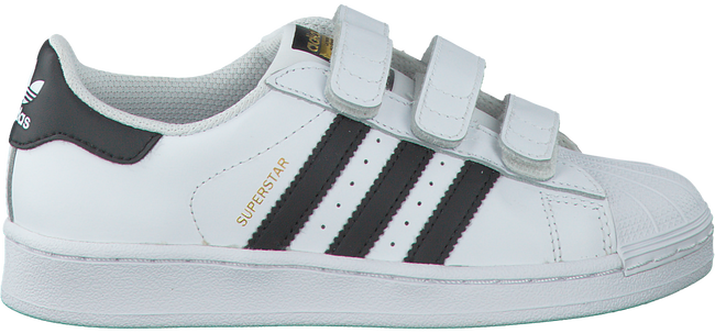 Weiße ADIDAS Sneaker SUPERSTAR FOUNDATION - large