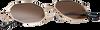 Braune WYSH Sonnenbrille ROBYN  - small