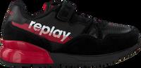 Schwarze REPLAY Sneaker low SWAT  - medium