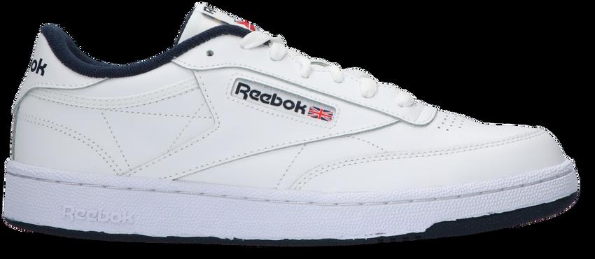 Weiße REEBOK Sneaker CLUB C 85 MEN - larger