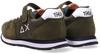 Grüne SUN68 Sneaker low BOYS TOM SOLID NYLON  - small