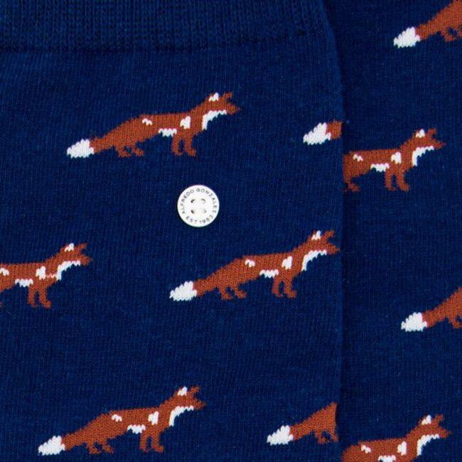 Blaue Alfredo Gonzales Socken FOXY  - large