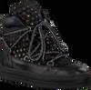 Schwarze UNISA Ankle Boots FRESHITA_HE_GR - small