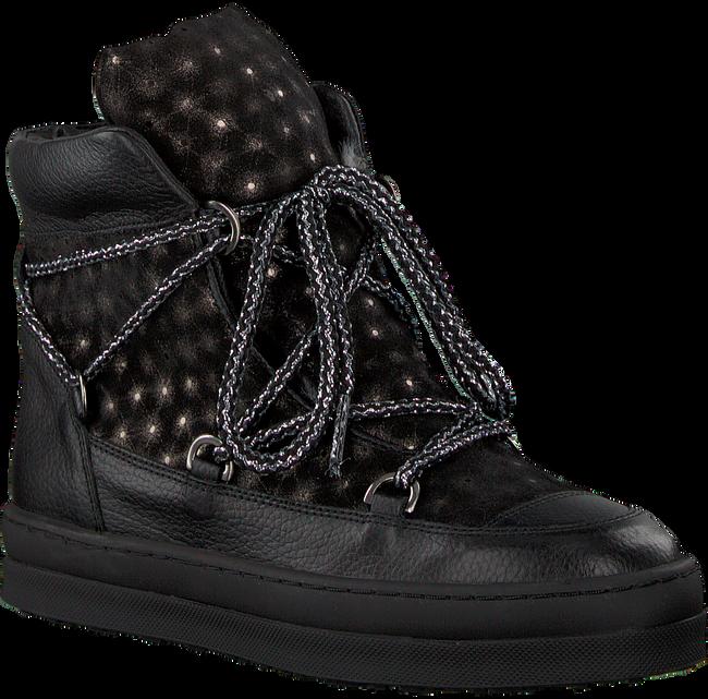 Schwarze UNISA Ankle Boots FRESHITA_HE_GR - large