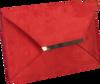 Rote PETER KAISER Clutch KAMATA  - small