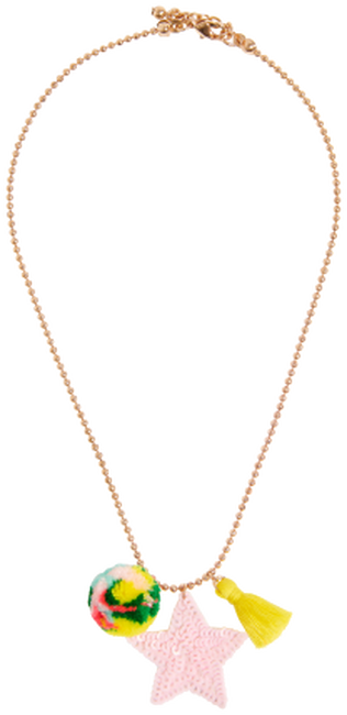 Goldfarbene LE BIG Kette SELDA NECKLACE  - large