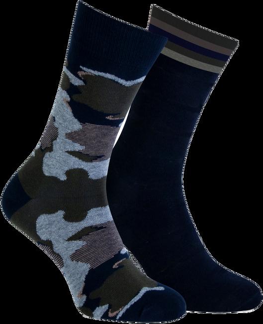 Blaue MARCMARCS Socken BENJAMIN  - large