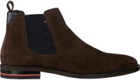 Braune TOMMY HILFIGER Chelsea Boots SIGNATURE HILFIGER CHELSEA  - medium