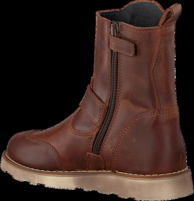 Cognacfarbene DEVELAB Ankle Boots 41703 - large
