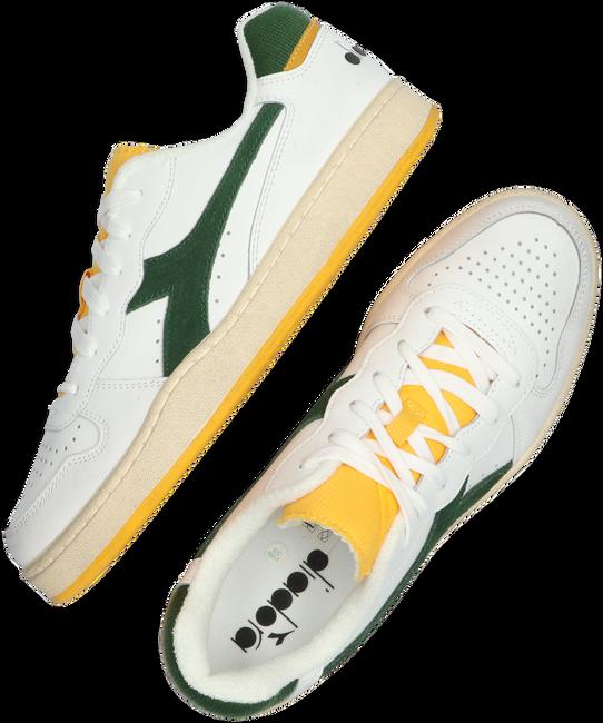 Weiße DIADORA Sneaker MI BASKET LOW ICONA  - large