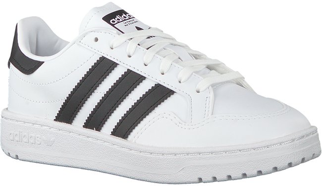 Weiße ADIDAS Sneaker low TEAM COURT J  - large