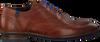 Cognacfarbene FLORIS VAN BOMMEL Business Schuhe 19048  - small