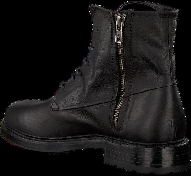 Schwarze BLACKSTONE Schnürschuhe MM08 - large