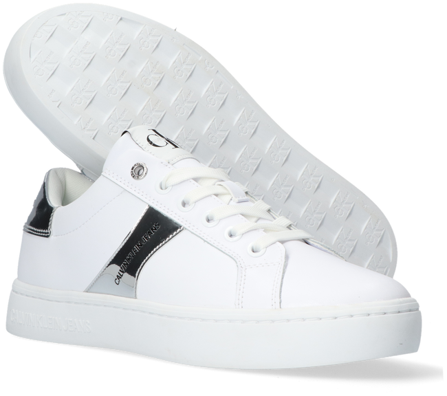 Weiße CALVIN KLEIN Sneaker low CUPSOLE LACEUP  - large