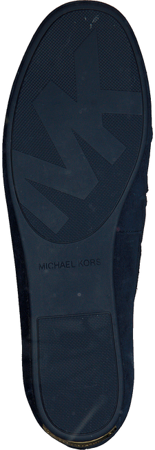 Blaue MICHAEL KORS Mokassins SUTTON MOC - large