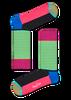 Blaue HAPPY SOCKS Socken HALF STRIPE  - small