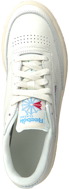 Weiße REEBOK Sneaker low CLUB C 85 WMN  - large