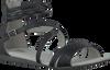 Schwarze BULLBOXER Sandalen AED034 - small