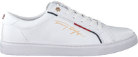 Weiße TOMMY HILFIGER Sneaker low SIGNATURE  - medium