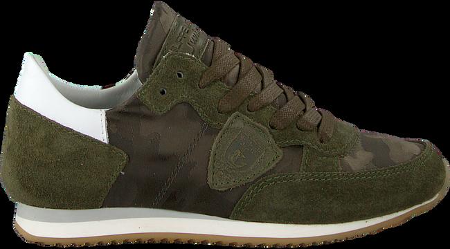 Grüne PHILIPPE MODEL Sneaker TROPEZ CAMOUFLAGE  - large