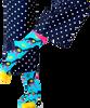 Blaue HAPPY SOCKS Socken MONKEY  - small