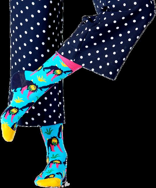 Blaue HAPPY SOCKS Socken MONKEY  - large