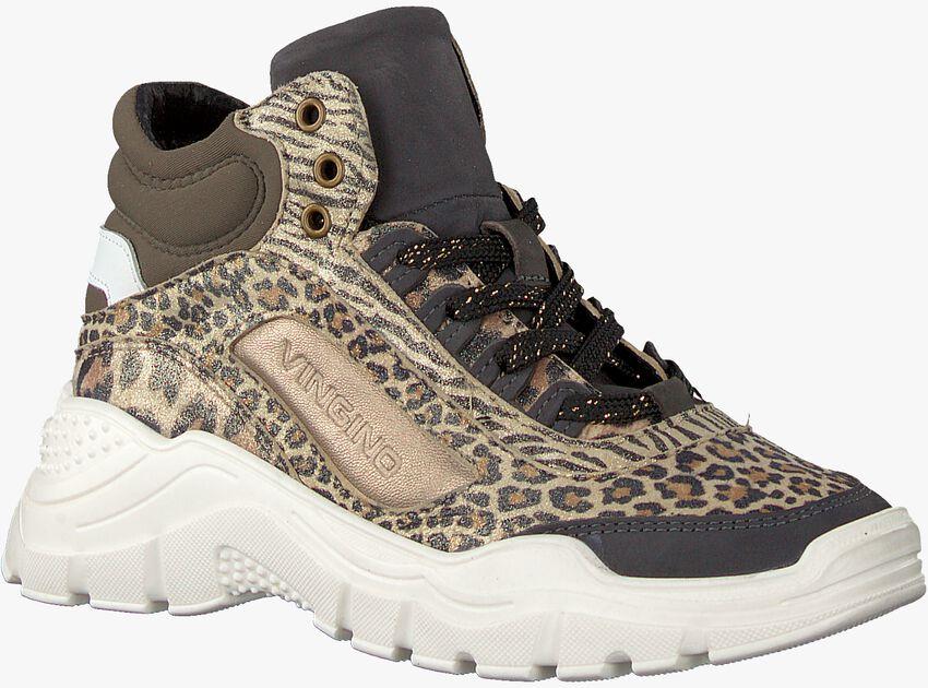 Taupe VINGINO Sneaker SABIA LOW  - larger