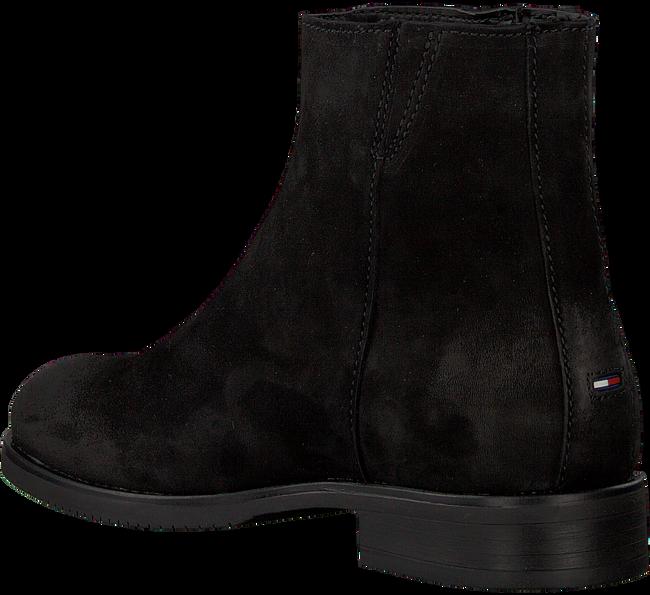 Schwarze TOMMY HILFIGER Chelsea Boots TOMMY JEANS ZIP FLAT  - large