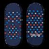 Blaue HAPPY SOCKS Socken DOT LINER  - small