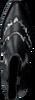 Schwarze BRONX Cowboystiefel 47170 - small