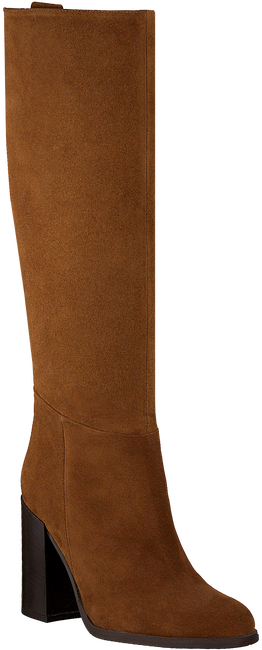 Cognacfarbene NOTRE-V Hohe Stiefel AH73  - large