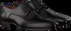 Schwarze GREVE Business Schuhe MAGNUM 4197  - small