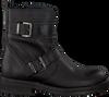 Schwarze HIP Biker Boots H1848 - small