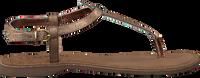 Bronzefarbene LAZAMANI Sandalen 75.422 - medium