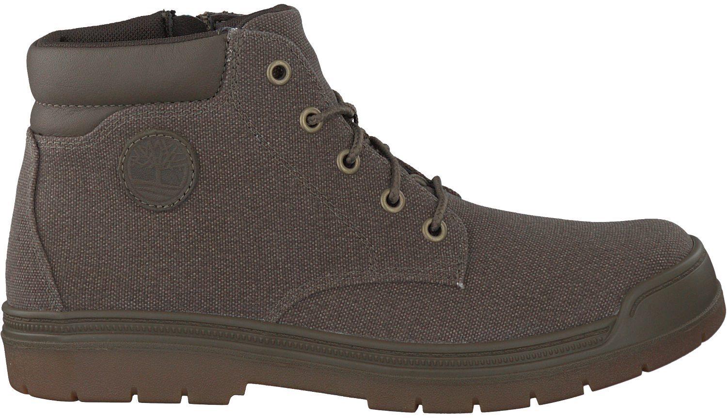 Taupe TIMBERLAND Ankle Boots RAMBLE WILD CANVAS