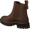 Braune TIMBERLAND Chelsea Boots LONDON SQUARE DOUBLE GORE  - small
