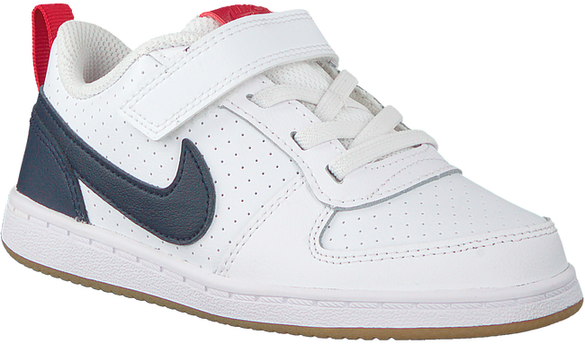 Weiße NIKE Sneaker COURT BOROUGH LOW (GS)  - large