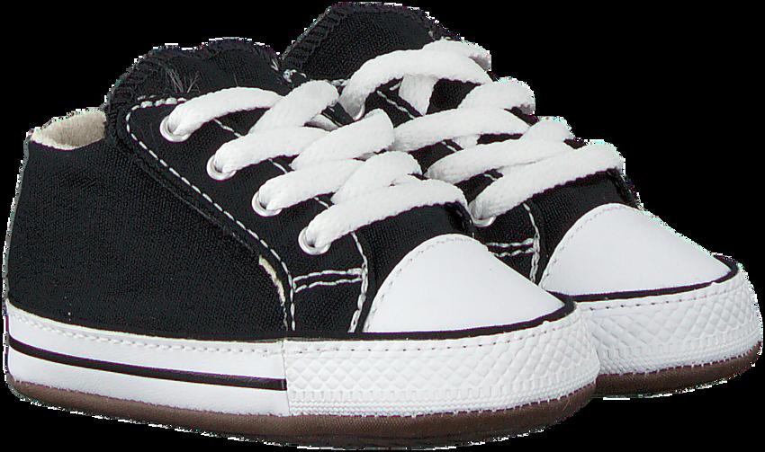 Schwarze CONVERSE Babyschuhe CRIBSTER CANVAS COLOR  - larger