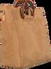 Cognacfarbene NOTRE-V Handtasche 18251  - small