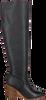 Schwarze NOTRE-V Hohe Stiefel 4634  - small