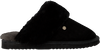 Schwarze WARMBAT Hausschuhe FLURRY WOMEN SUEDE - small