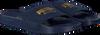 Blaue PUMA Pantolette LEADCAT SUEDE MEN - small