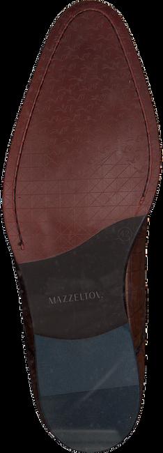 Cognacfarbene MAZZELTOV Schnürschuhe MREVINTAGE603.02OMO  - large