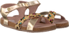 Goldfarbene GIOSEPPO Sandalen 43775 - small