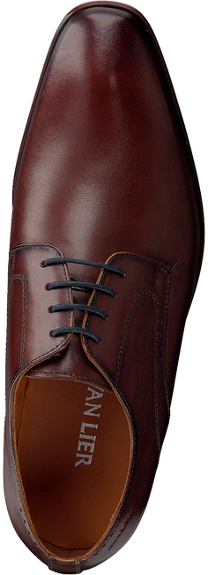 Cognacfarbene VAN LIER Business Schuhe 1958900  - large